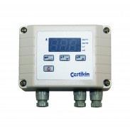 Digital thermostat for S/S heat exchanger-0