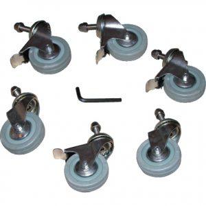 Reel Easy Castor BZP Type 2 (Pk6). Replacement pool reel castors