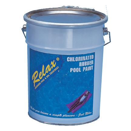 1 x 5lt Light Blue Chlorine Rubber Paint
