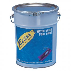 1 x 5lt Mid Blue Water Based Paint