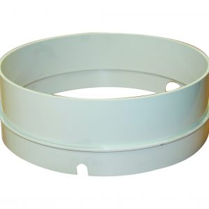 Lid extension ring for commercial Supa skimmer