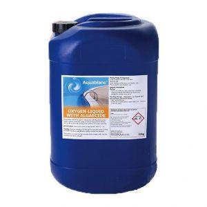 Aquablanc Oxygen Liquid with Algaecide 12%