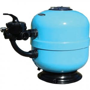 Complete Lacron Side Mount Pool Filter with Sand