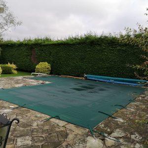 Pool winter debris cover supplier in Bedfordshire