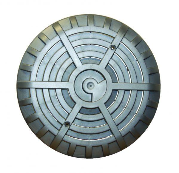 liner pools - main drain C/W flat grille