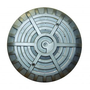 "6"" main drain with anti vortex grille"
