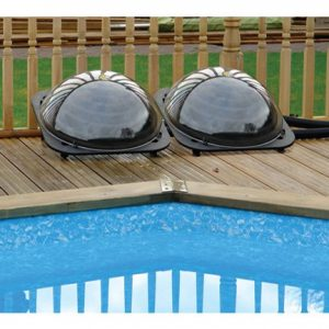 Solar Pod pool heating