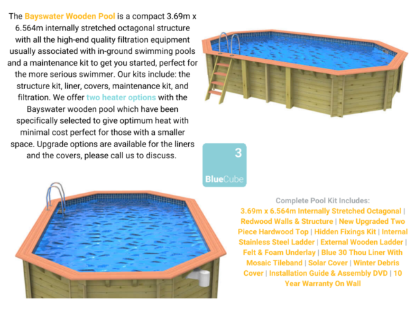 Bayswater wooden Pool | Blue Cube Direct