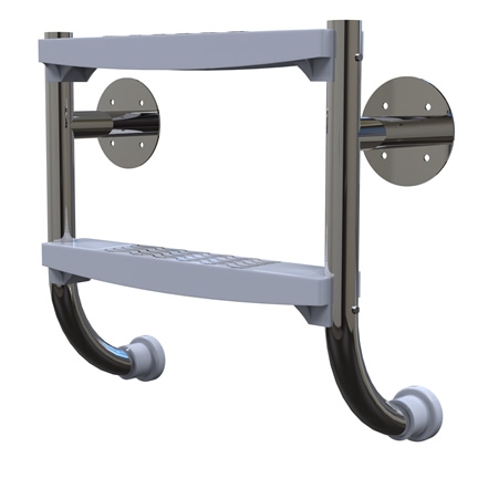 Undercover stainless steel ladder various sizes