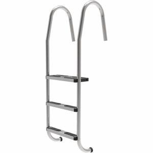 Slimline Stainless Steel Ladder Various sizes