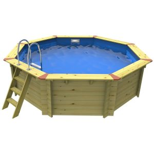 Small Nordic Wooden Pool