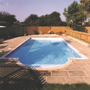 Blue Cube Block and Liner Large Pool Kit