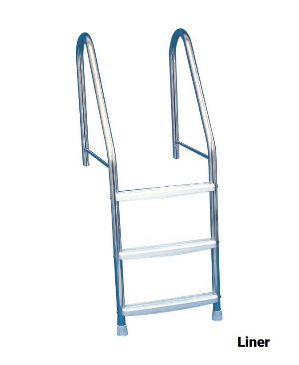 Stainless Steel Ladder for Concrete or Liner Pools   Blue Cube Direct