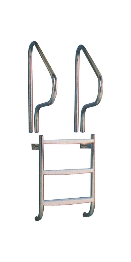 """1.5"""" Stainless Steel Under Cover Ladder"""