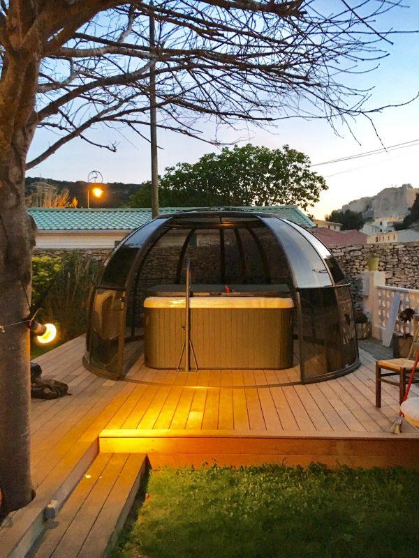 Orlando Glass Hot Tub Enclosure | Blue Cube Direct