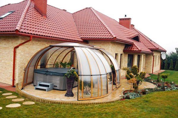 Sunhouse Hot Tub Enclosure | Blue Cube Direct
