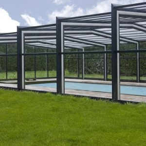 Orion Telescopic Pool Enclosure | Blue Cube Direct