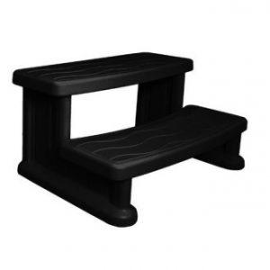 Spa Side Step - Black - Hot tub & spa steps