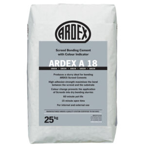 Ardex A18 Screed Bonding Cement | Blue Cube Direct