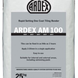 Ardex AM 100 One coat tiling render | Blue Cube Direct