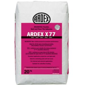 ardex x77 Tile adhesive | Blue Cube Direct